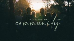 Discipline of Community